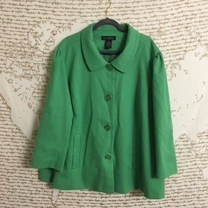 Dialogue 3x Green Spring Swing Jacket A14-1